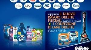 consegna gratuita esselunga P&G Gillette Flexball