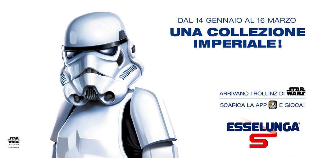 Una collezione galattica, la nuova promozione Esselunga con protagonista Star Wars