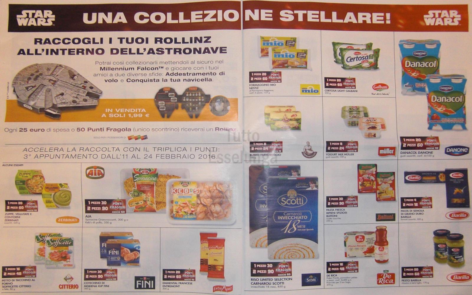 Volantino esselunga 11 febbraio 2016 08 tuttoesselunga for Esselunga catalogo 2017