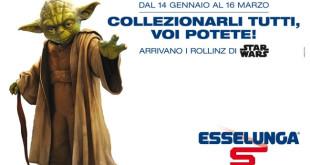 Collezione Rollinz Star Wars Esselunga termina il 16 marzo 2016
