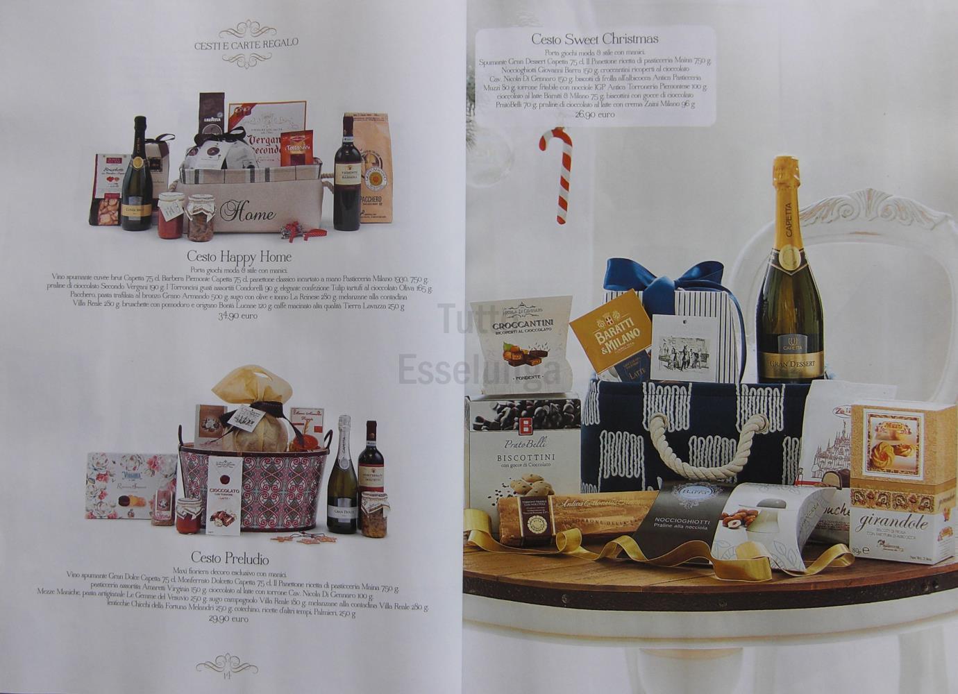 Idee regalo 2016 il catalogo esselunga di natale for Esselunga catalogo 2017