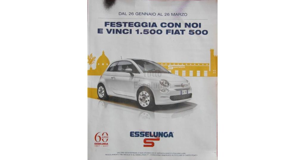 Vinci 1500 Fiat 500