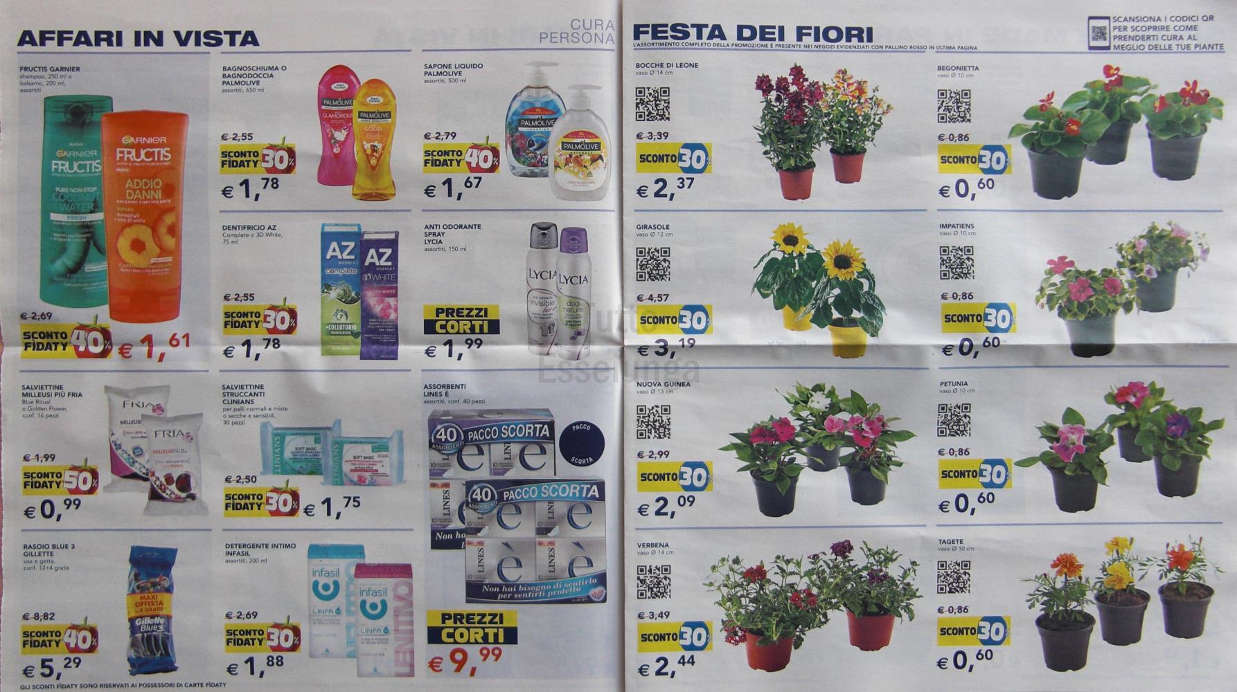 Volantino esselunga del 19 aprile 2017 tuttoesselunga for Esselunga catalogo 2017