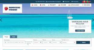servizio viaggi nuovo sito