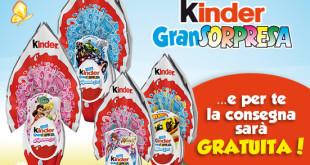 Consegna gratuita spesa online Esselunga con Kinder Gransorpresa