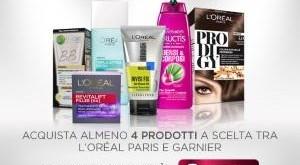 Consegna spesa Esselunga online scontata con Garnier e L'oreal Paris