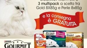 Consegna spesa online Esselunga gratuita con Gourmet di Purina