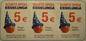 Buono sconto Esselunga 5 euro