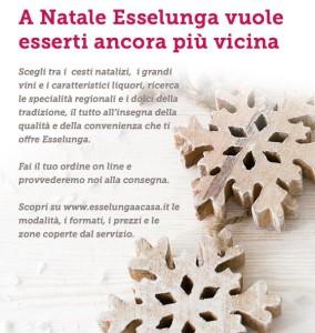 Consegna a domicilio cesti natalizi Esselunga