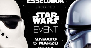 Evento Star Wars Milano Esselunga 5 marzo 2016