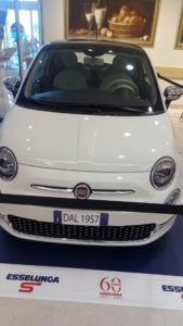 Fiat 500 Esselunga 60 anni