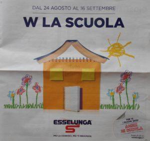 """Volantino """"W la scuola"""" 24 agosto 2020"""