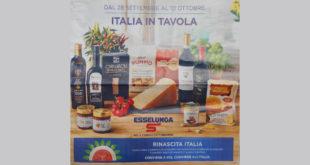 Volantino esselunga 28 settembre 2020 - Italia in tavola